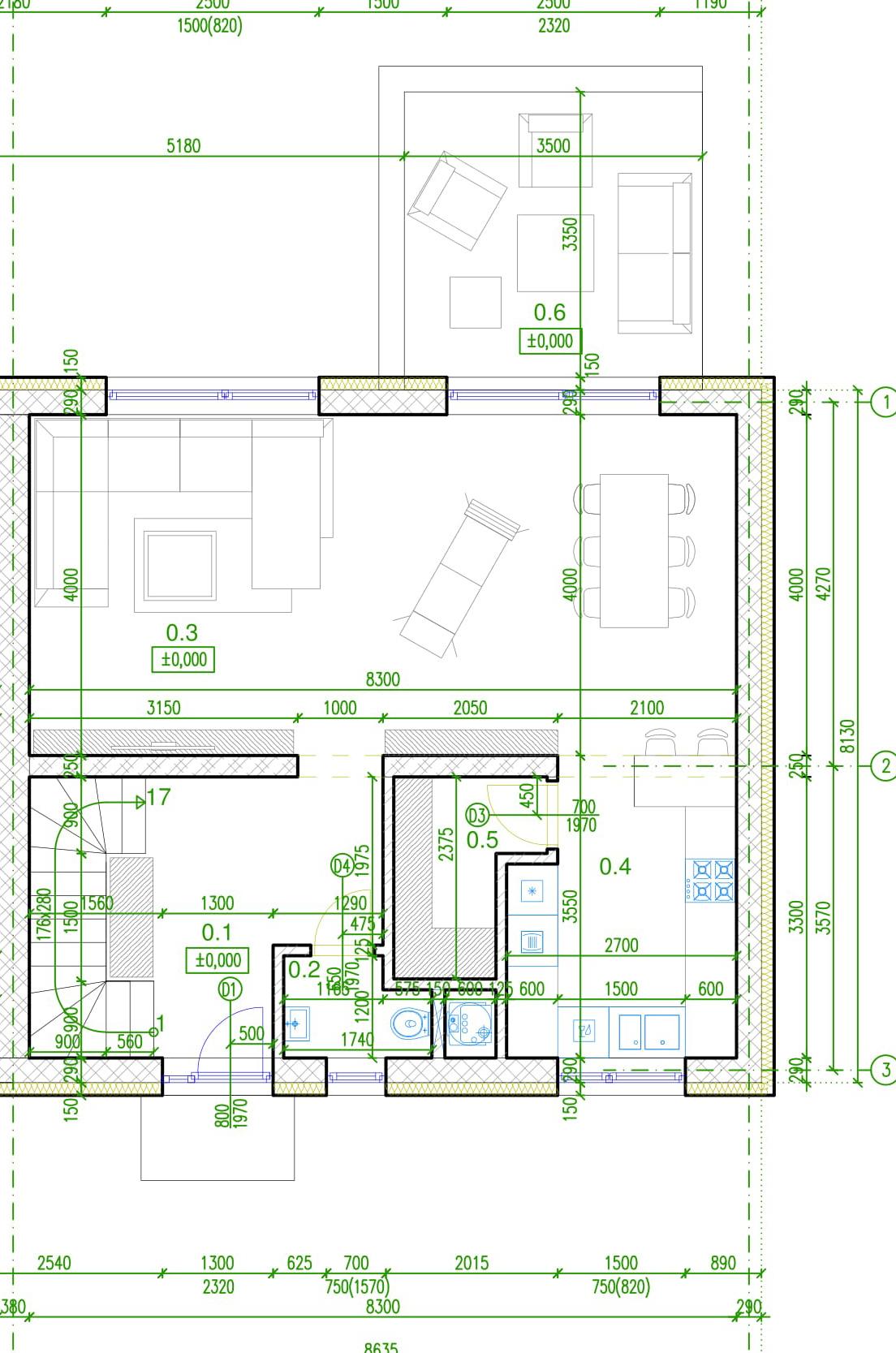 4 izbový rodinný dom v Alžbetinom dvore pred dokončením!