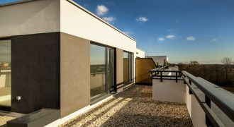 2 izb. byt s veľkou terasou v Dunajskej Lužnej