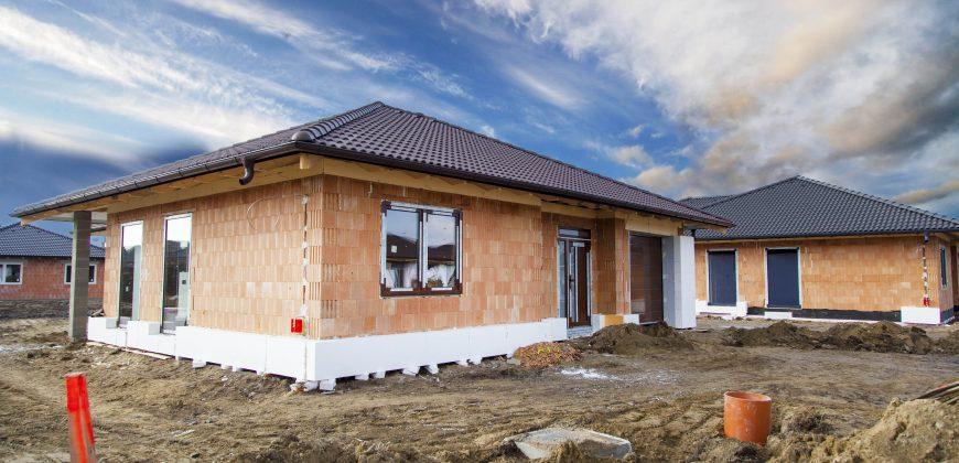 4 izb. nízkoenergetický dom s garážou