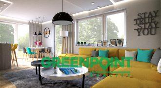 4 izbové byty v štandarde so záhradou v Rovinke