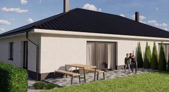 4 izb. bungalov v dvojdome, pozemok 400 m2