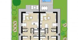 3 izbový byt v dvojdome v štandarde / Miloslavov