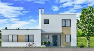 4 izbový prízemný byt v dvojdome s vlastnou záhradou v blízkosti autobusovej zastávky